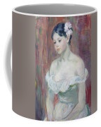 A Young Girl Coffee Mug by Berthe Morisot