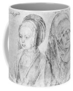 A Young Girl Of Cologne And Dbcrer Wife 1520 Coffee Mug