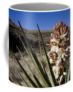 A Yucca Plant Blossoms In The Desert Coffee Mug