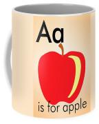 Aa Is For Apple Coffee Mug