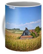 Abandoned Corn Field House Coffee Mug