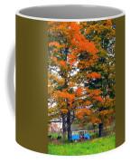 Abandoned Hippie Van Coffee Mug