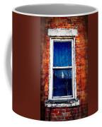 Abandoned House Window With Vines Coffee Mug