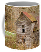 Abandoned House With Colorful Roof Coffee Mug
