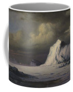 Abandoned In The Arctic Ice Fields Coffee Mug