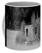 Abandoned In The Field Black And White Coffee Mug