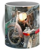 Abandoned Motorbike  Coffee Mug