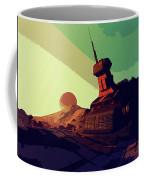 Abandoned On An Alien World Coffee Mug