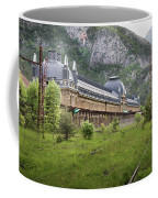 Abandoned Side Of The Canfranc International Railway Station Coffee Mug