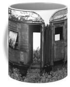 Abandoned Train Cars B Coffee Mug