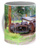 Abandoned Wheels Coffee Mug
