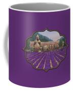 Abbaye Notre-dame De Senanque Coffee Mug by Anastasiya Malakhova