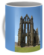 Abbey At Whitby  Coffee Mug