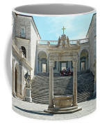 Abbey Of Montecassino Courtyard Coffee Mug