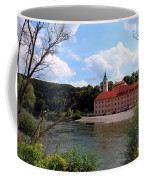 Abbey Weltenburg And Danube River Coffee Mug