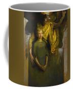 Abbott Handerson Thayer 1849 - 1921 Boy And Angel Coffee Mug
