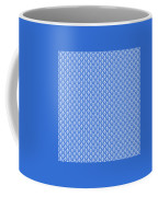 Abby Damask In White Pattern 18-p0113 Coffee Mug