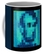 Abe In Aqua Coffee Mug