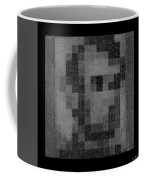 Abe In Black And White Coffee Mug