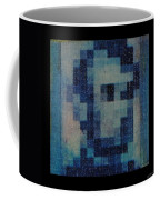 Abe In Light Blue Coffee Mug