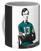 Abe Lincoln In A Dan Marino Miami Dolphins Jersey Coffee Mug