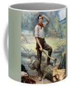 Abe Lincoln The Rail Splitter  Coffee Mug by War Is Hell Store
