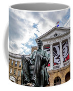 Abe On Bascom Hill Coffee Mug
