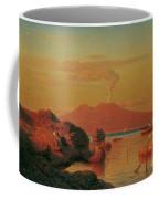Abendlicher Blick Ber Den Golf Von Neapel Coffee Mug