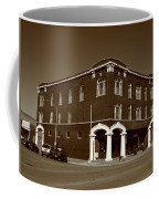 Abilene Kansas - Spruce And 3rd Sepia Coffee Mug