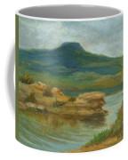 Abiquiu Lake Cloudy Day Coffee Mug