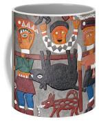Aboriginal Painted Wall Decoration Coffee Mug