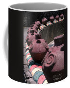Aboriginal Wall Design Coffee Mug by Yali Shi