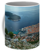 Above Dubrovnik - Croatia Coffee Mug