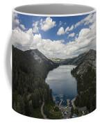Above Echo Lake Coffee Mug
