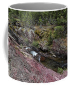 Above Redrock Falls Coffee Mug