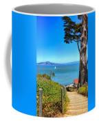 Above San Francisco Bay Coffee Mug