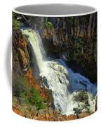Above Undine Falls Coffee Mug