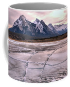 Abraham Lake Ice Sheets Coffee Mug