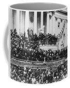 Abraham Lincoln Gives His Second Inaugural Address - March 4 1865 Coffee Mug