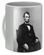 Abraham Lincoln Portrait - Used For The Five Dollar Bill - C 1864 Coffee Mug