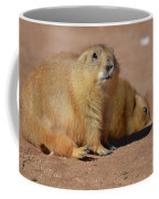 Absolutely Adorable Prairie Dog With  A Friend Coffee Mug