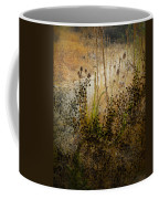 Abstract -  Burning Bush Coffee Mug