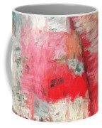 Abstract 107 Digital Oil Painting On Canvas Full Of Texture And Brig Coffee Mug