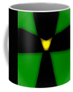 Abstract 33 Green Coffee Mug
