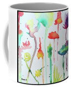 Blob Flowers Coffee Mug