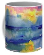 Floating In Blue Coffee Mug
