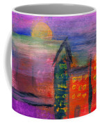 Abstract - Acrylic - Lost In The City Coffee Mug