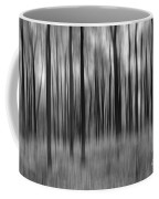 Abstract Autumn Bw Coffee Mug