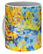 Abstract Autumn Landscape Coffee Mug