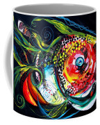 Abstract Baboon Fish Coffee Mug